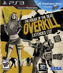 Игра для Sony PlayStation 3 Sega House of the Dead Overkill Extended Cut PS3