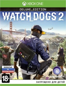 Игра для Xbox One Ubisoft Watch Dogs 2. Deluxe Edition (Xbox One)