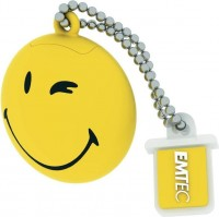 Флешка USB 2.0 Emtec Smiley TakeItEasy 8Gb Yellow