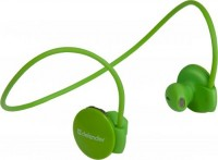 Стерео bluetooth-гарнитура Defender FreeMotion B611 Green