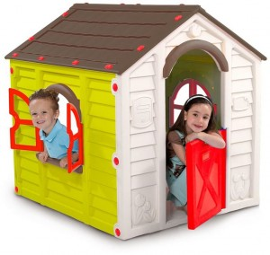 Пластиковый домик Keter Rancho Playhouse 17609669 Brown green