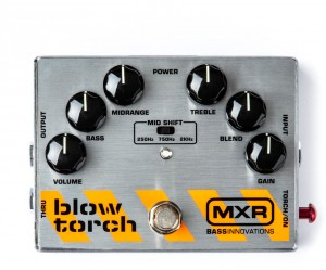 Педаль эффектов MXR M181 Blow Torch Distortion