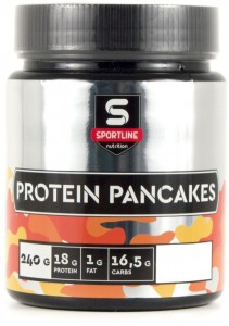 Протеин SportLine Nutrition Protein Pancakes натуральный 240 гр