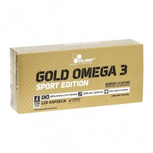 Omega 3 Olimp Sport Nutrition O30581 Gold Omega 3 sport edition 120 капсул