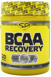 BCAA Steel Power Nutrition sp000423 Recovery яблоко 250 г